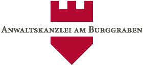 Logo am Burggraben